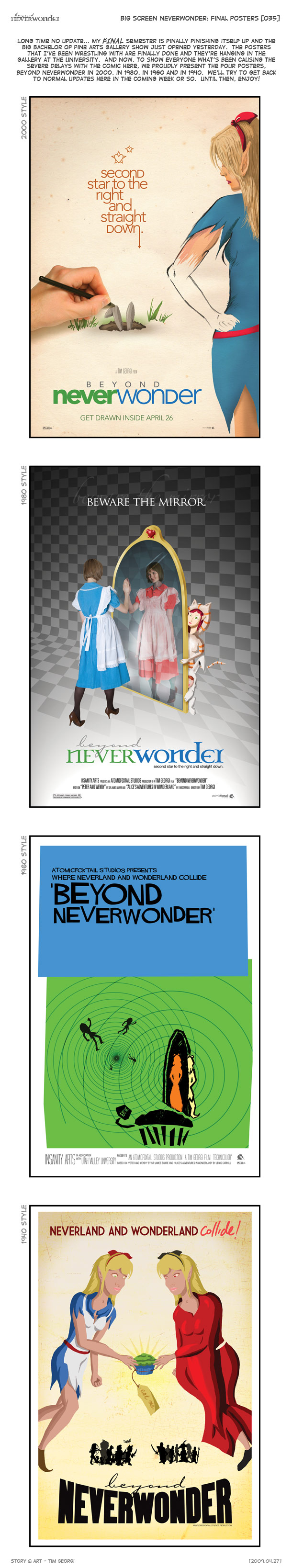 [035] Big Screen Neverwonder: Final Posters